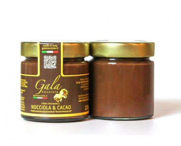 Piemonteser Haselnuss-Schokoladen-Creme